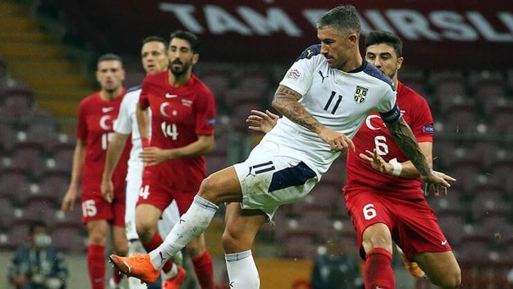 Türkiye Sırbistan 2-2   Maç Sonucu
